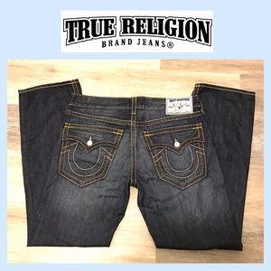 TRUE RELIGION JEANS WORLD TOUR STRAIGHT 36x34